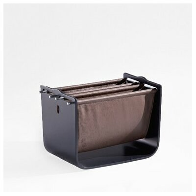 Modena Magazine Basket Color: Matte Dark Grey
