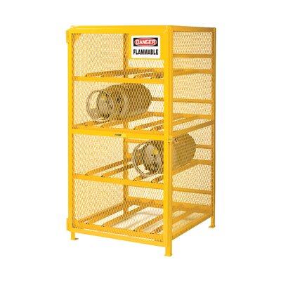 """70"""" x 72"""" x 38"""" Horizontal Gas Cylinder Storage Unit"""