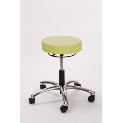 Height Adjusts Brandt Airbuoy Pneumatic stool with ring release Color: Apple - Green
