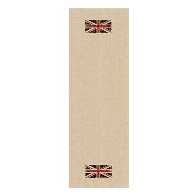 Downton Abbey British Union Jack Decorative Table Runner