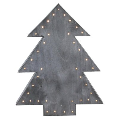 Lighted Tree Christmas Table Top Decoration
