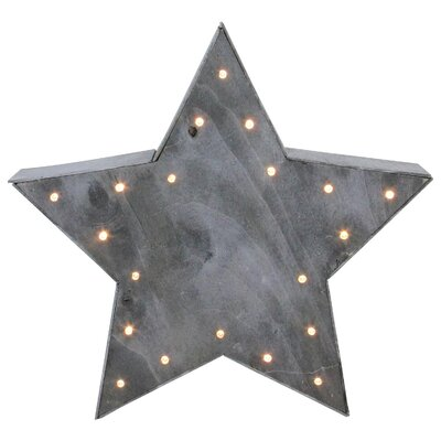 Large Lighted Star Christmas Table Top Decoration