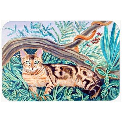 """Cat Maine Coon Kitchen/Bath Mat Size: 20"""" H x 30"""" W x 0.25"""" D"""
