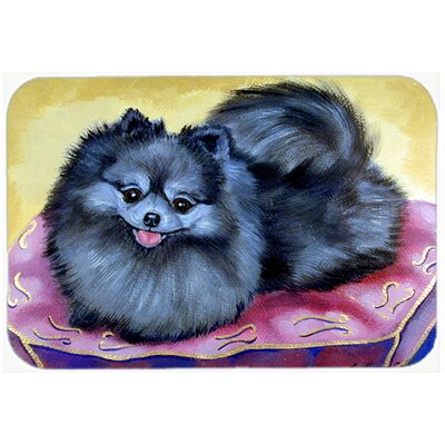 """Pomeranian Kitchen/Bath Mat Size: 20"""" H x 30"""" W x 0.25"""" D"""