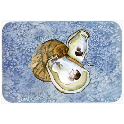 """Oyster Kitchen/Bath Mat Size: 20"""" H x 30"""" W x 0.25"""" D"""