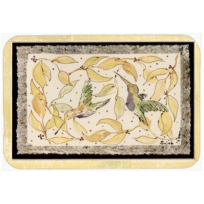 Hummingbird Kitchen/Bath Mat
