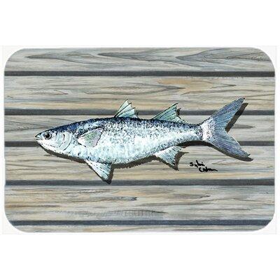 """Fish Mullet Kitchen/Bath Mat Size: 24"""" H x 36"""" W x 0.25"""" D"""