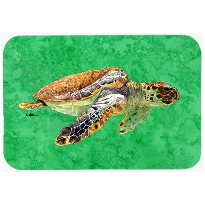 "Turtle Kitchen/Bath Mat Size: 20"" H x 30"" W x 0.25"" D"