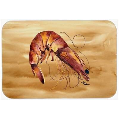 """Shrimp Kitchen/Bath Mat Size: 20"""" H x 30"""" W x 0.25"""" D"""