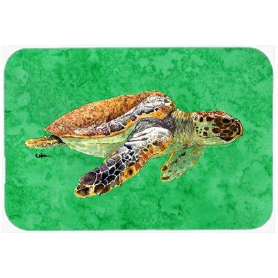 "Turtle Kitchen/Bath Mat Size: 24"" H x 36"" W x 0.25"" D"