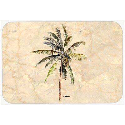 """Palm Tree Kitchen/Bath Mat Size: 20"""" H x 30"""" W x 0.25"""" D"""
