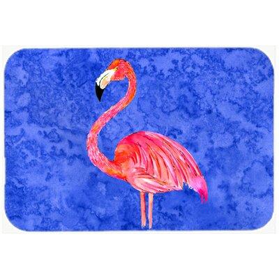 """Flamingo Kitchen/Bath Mat Size: 24"""" H x 36"""" W x 0.25"""" D"""