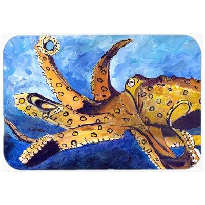 """Octopus Kitchen/Bath Mat Size: 24"""" H x 36"""" W x 0.25"""" D"""
