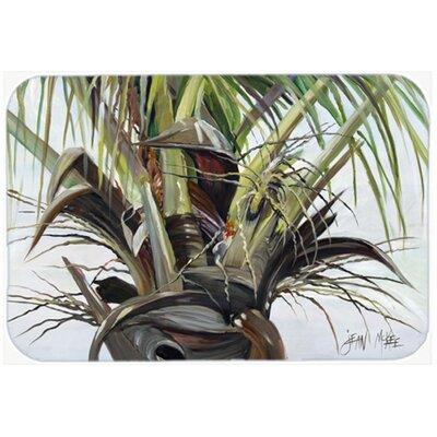 """Top Palm Tree Kitchen/Bath Mat Size: 20"""" H x 30"""" W x 0.25"""" D"""