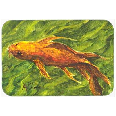 """Fish Koi Kitchen/Bath Mat Size: 24"""" H x 36"""" W x 0.25"""" D"""
