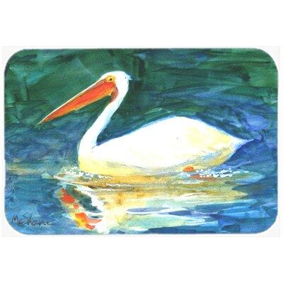 """Bird Pelican Kitchen/Bath Mat Size: 20"""" H x 30"""" W x 0.25"""" D"""
