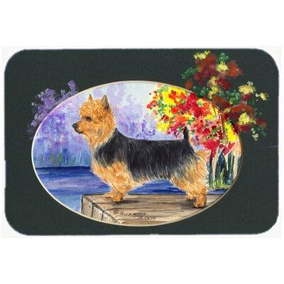 "Australian Terrier Kitchen/Bath Mat Size: 20"" H x 30"" W x 0.25"" D"