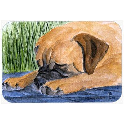 """Bullmastiff Kitchen/Bath Mat Size: 20"""" H x 30"""" W x 0.25"""" D"""