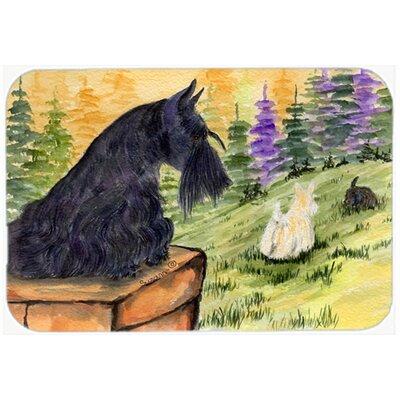 "Scottish Terrier Kitchen/Bath Mat Size: 20"" H x 30"" W x 0.25"" D"