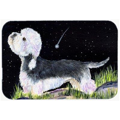 Starry Night Dandie Dinmont Terrier Kitchen/Bath Mat