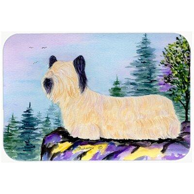 "Skye Terrier Kitchen/Bath Mat Size: 24"" H x 36"" W x 0.25"" D"