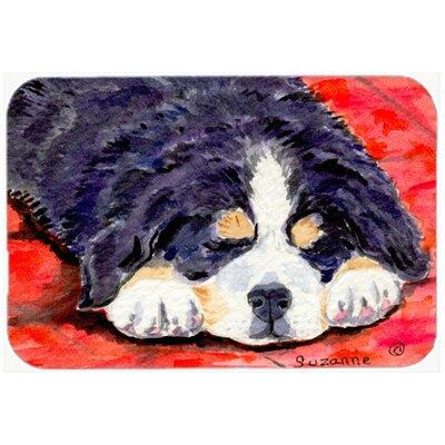 """Bernese Mountain Dog Kitchen/Bath Mat Size: 24"""" H x 36"""" W x 0.25"""" D"""