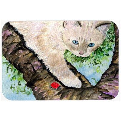 """Cat Birman Kitchen/Bath Mat Size: 24"""" H x 36"""" W x 0.25"""" D"""