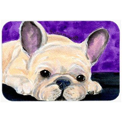 "French Bulldog Kitchen/Bath Mat Size: 20"" H x 30"" W x 0.25"" D"