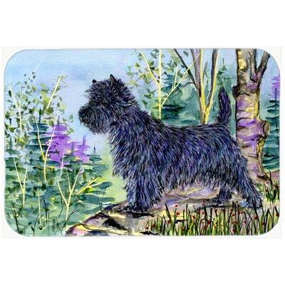 """Cairn Terrier Kitchen/Bath Mat Size: 20"""" H x 30"""" W x 0.25"""" D"""