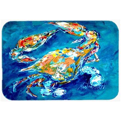 """By Chance Crab Kitchen/Bath Mat Size: 20"""" H x 30"""" W x 0.25"""" D"""