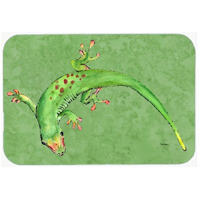 "Gecko Kitchen/Bath Mat Size: 20"" H x 30"" W x 0.25"" D"