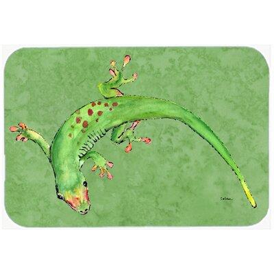 "Gecko Kitchen/Bath Mat Size: 24"" H x 36"" W x 0.25"" D"
