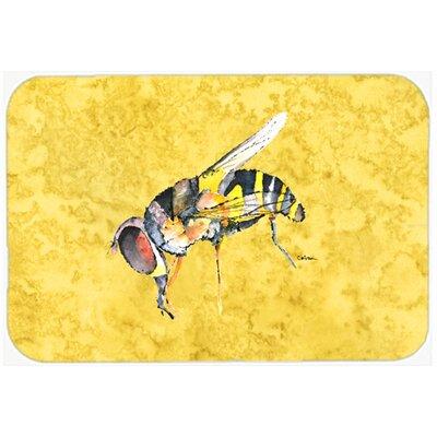 "Bee Kitchen/Bath Mat Size: 20"" H x 30"" W x 0.25"" D"