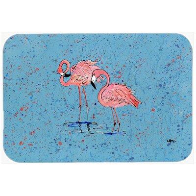 """Flamingo Kitchen/Bath Mat Size: 20"""" H x 30"""" W x 0.25"""" D"""