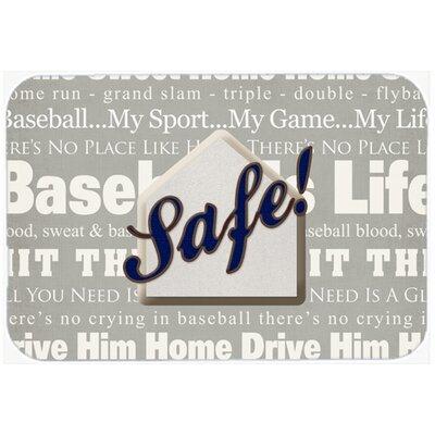 """Safe At Home Kitchen/Bath Mat Size: 24"""" H x 36"""" W x 0.25"""" D"""