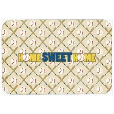 """Home Sweet Home Kitchen/Bath Mat Size: 20"""" H x 30"""" W x 0.25"""" D"""