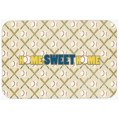 """Home Sweet Home Kitchen/Bath Mat Size: 24"""" H x 36"""" W x 0.25"""" D"""