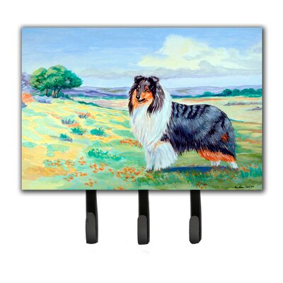 Collie Leash Holder and Key Hook