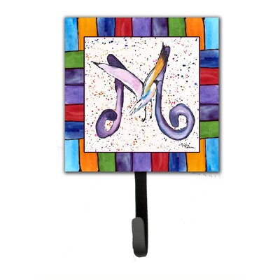 Beach and Seafood Wall Hook Letter: M