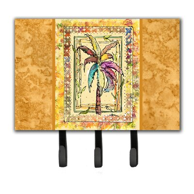 Palm Tree Leash Holder and Key Hook