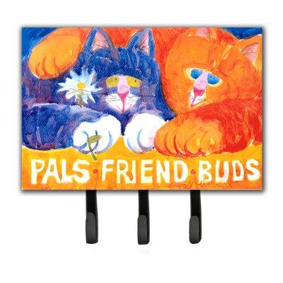 Cats Pals Friends Buds Key Holder