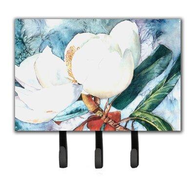 Magnolia Flower Leash Holder and Key Hook