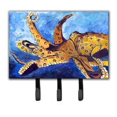 Octopus Leash Holder and Key Hook