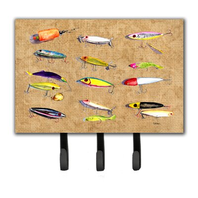 Fishing Lures Leash Holder and Key Hook