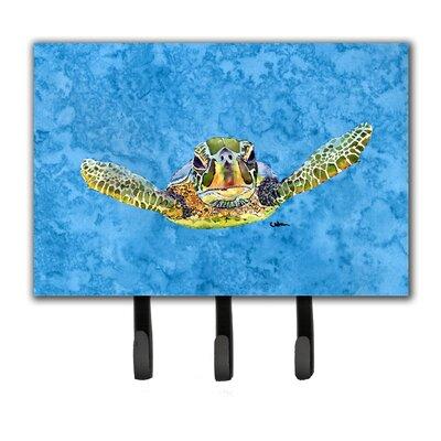 Turtle Leash Holder and Key Hook