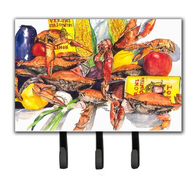 Veron's and Crabs Leash Holder and Key Hook