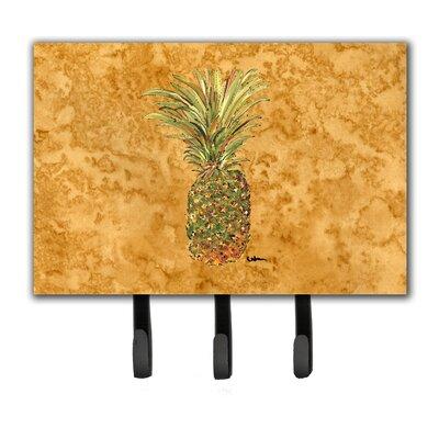 Pineapple Leash Holder and Key Hook