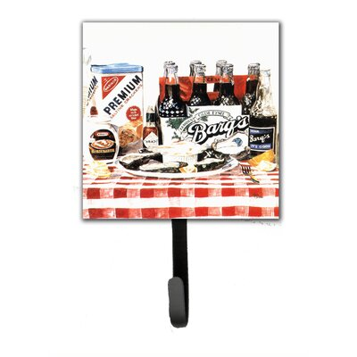 Barq's Oysters Leash Holder and Wall Hook