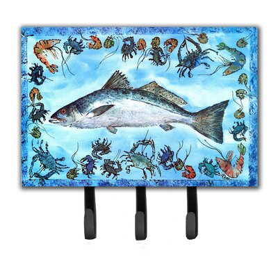 Fish Speckled Trout Key Holder