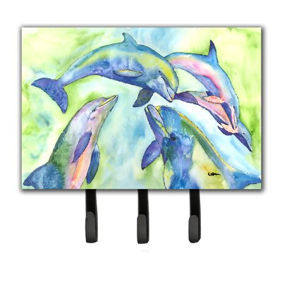 Dolphin Leash Holder and Key Hook